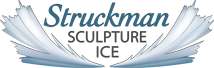 Struckman Sculpture Ice, Serving Northern Coloardo from locations in Loveland, Lakewood and Thornton Colorado; Custom Crystal Clear Ice Sculptures!